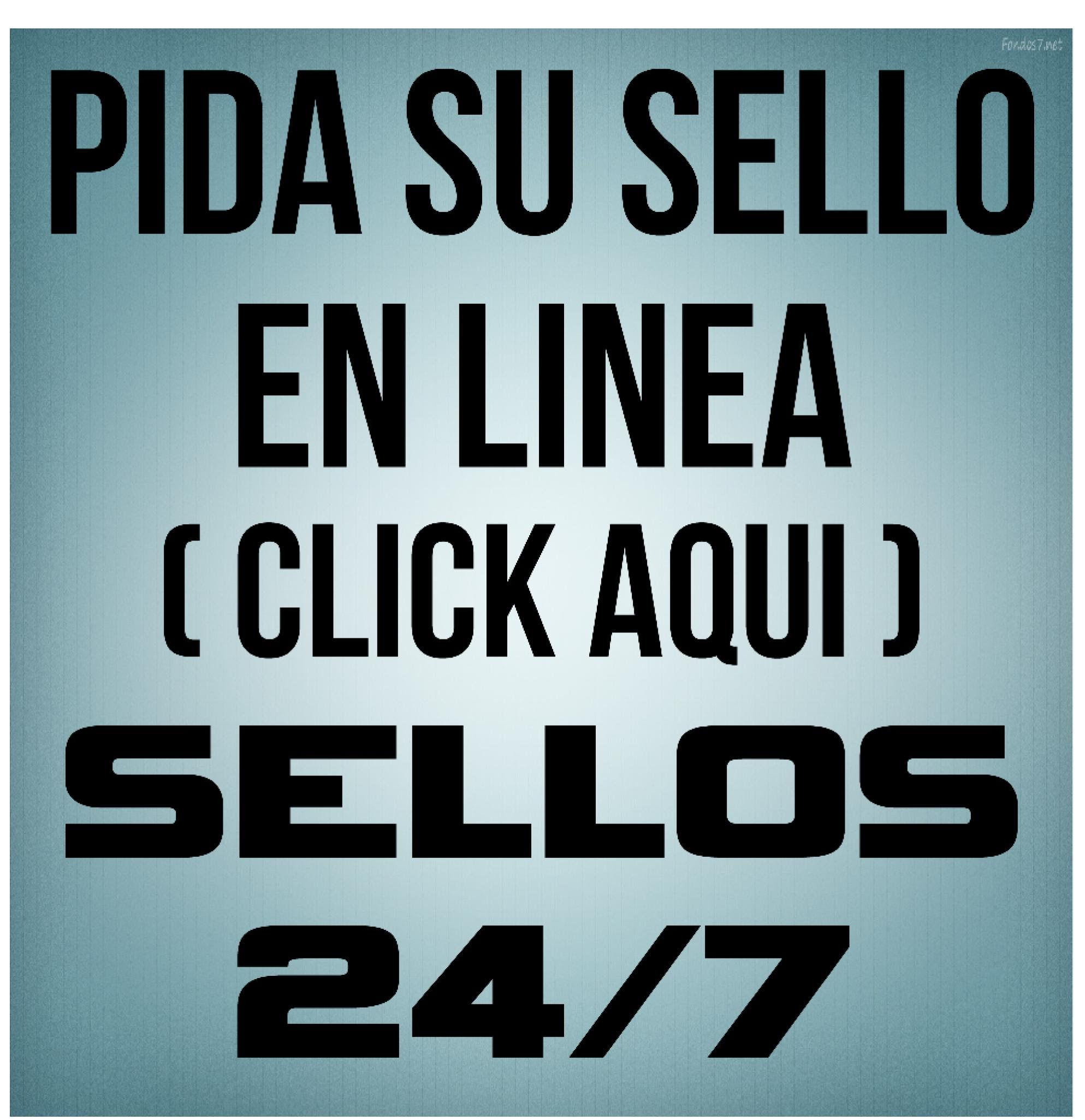 SELLO EN LINEA